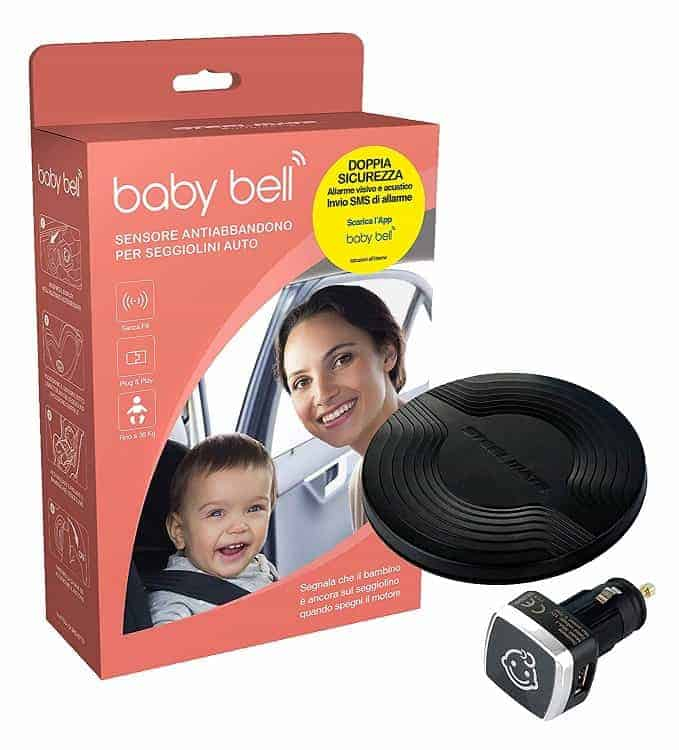 Baby bell dispositivo anti-abbandono