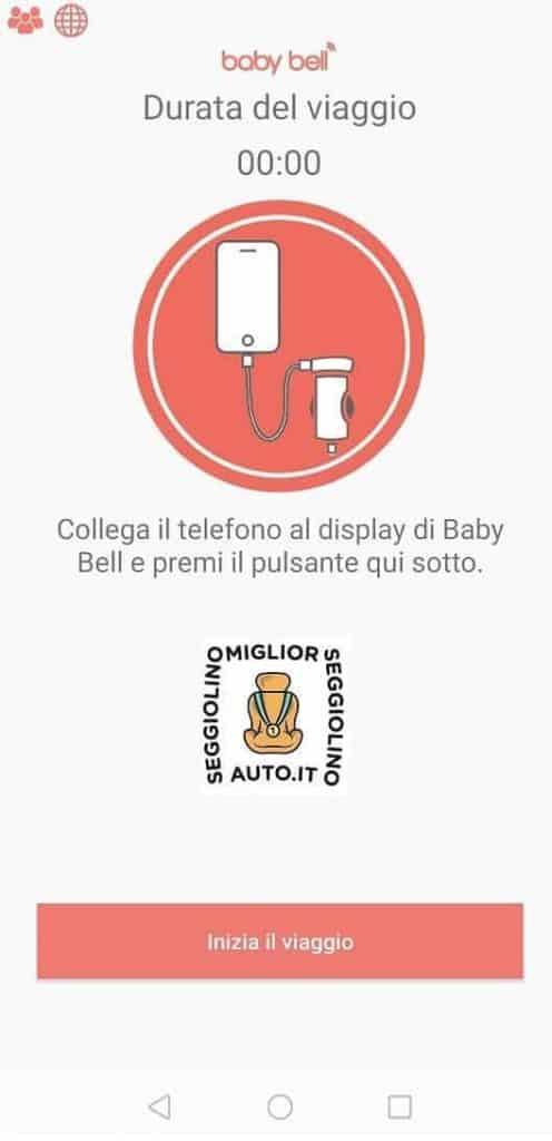 Baby Bell collegamento smartphone