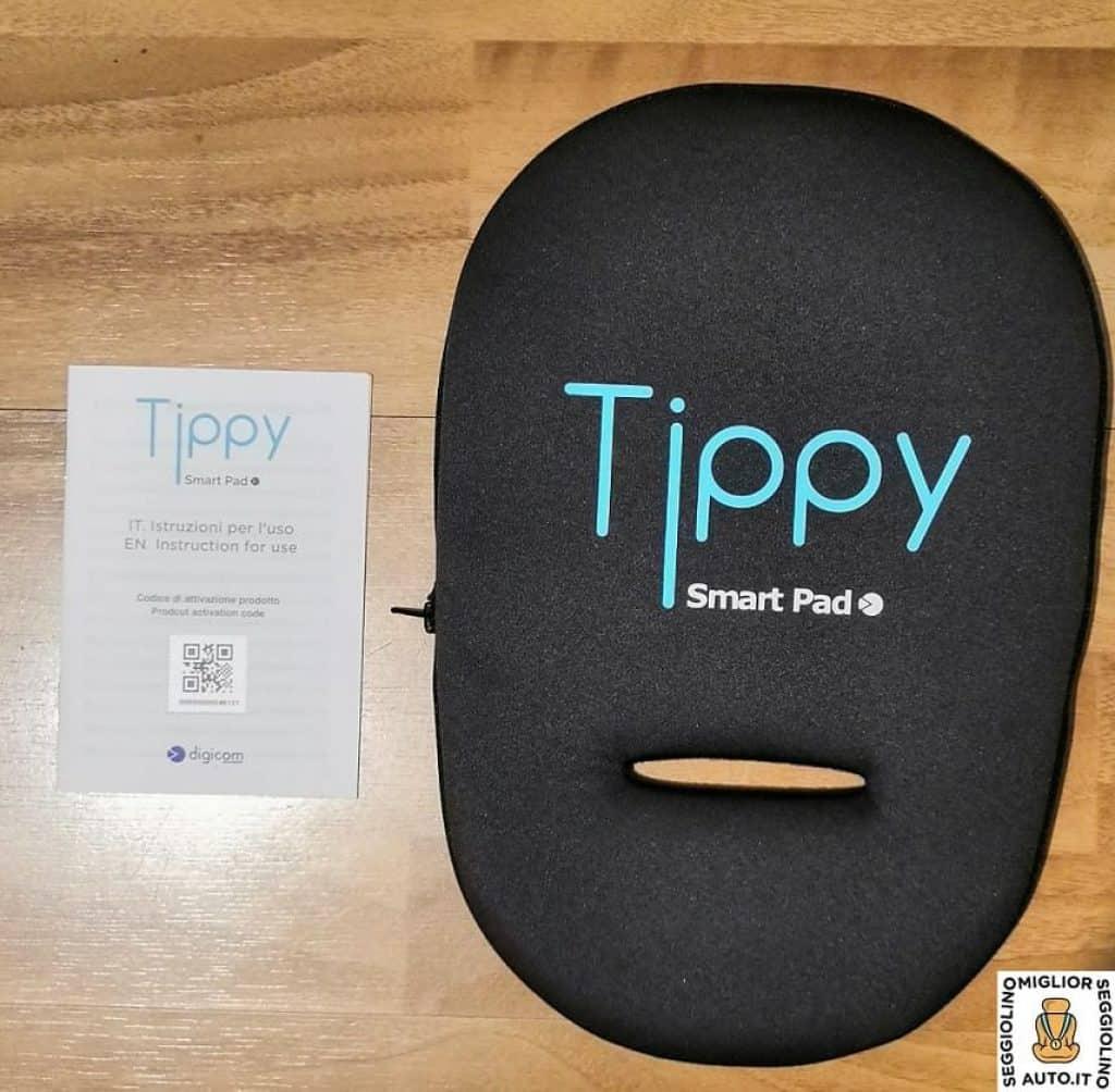 Tippy contenuto della confezione