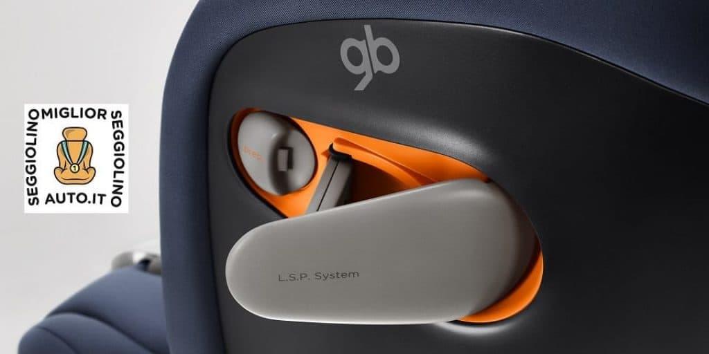 gb Gold Everna-Fix protezione laterale dettaglio