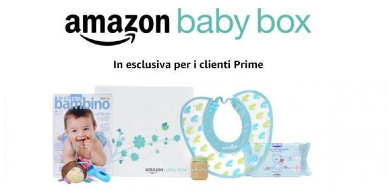 Amazon Baby Box : come richiederla gratuitamente